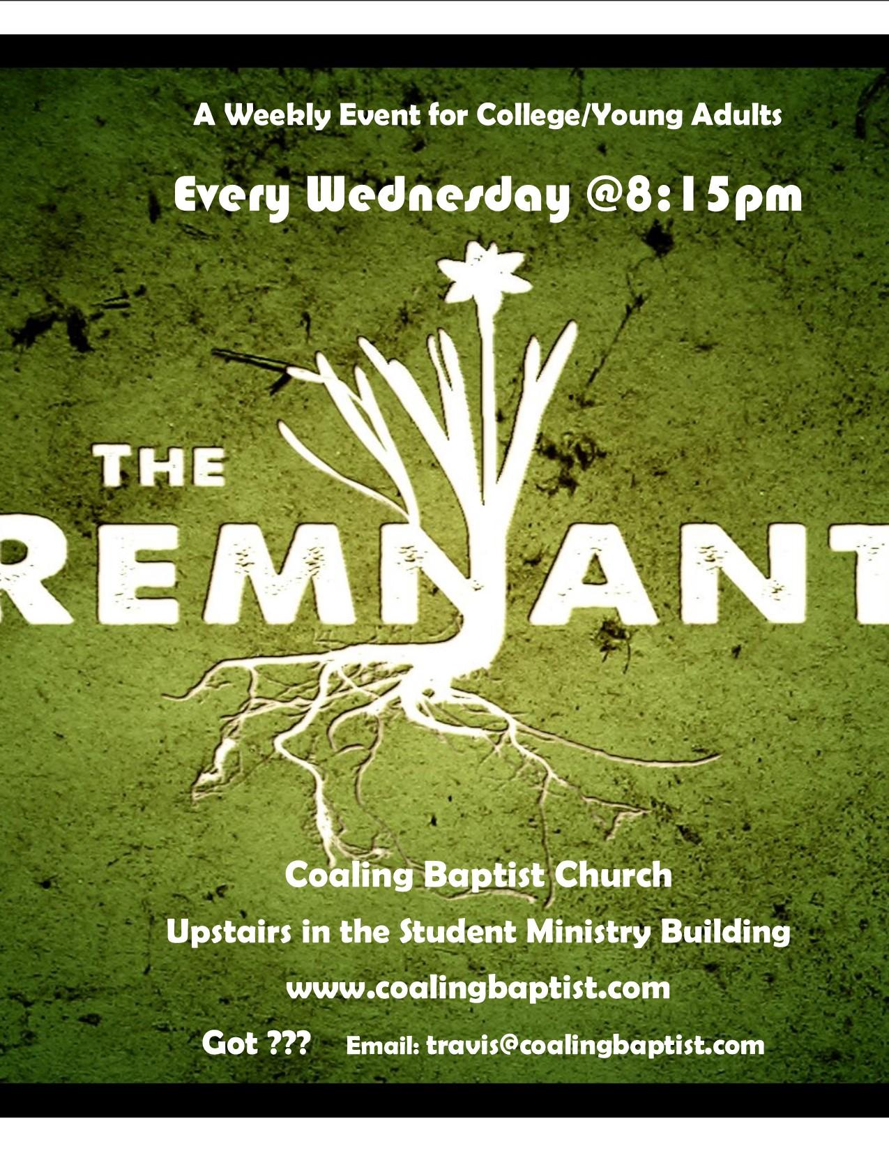 Remnant College Logo